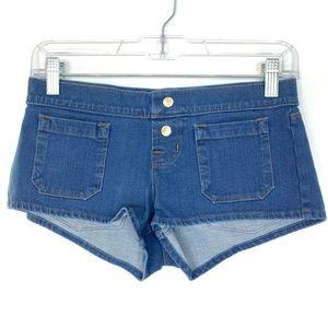 J Brand Novo Mini Vivacity Denim Shorts